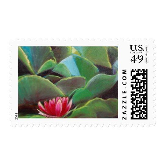 waterlilies postage