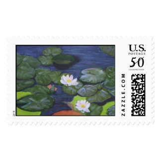 WaterLilies Postage