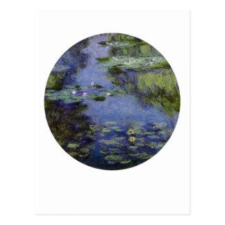 Waterlilies Postcard