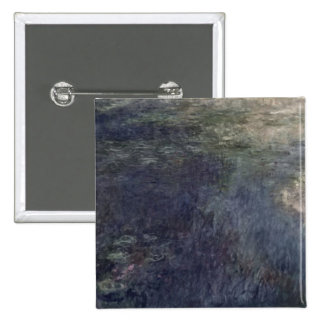Waterlilies - The Clouds , 1914-18 Pinback Button