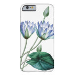 Waterlilies vintage illustration of Redoute Barely There iPhone 6 Case