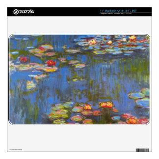 """Waterlillies by Claude Monet 11"""" MacBook Air Skins"""