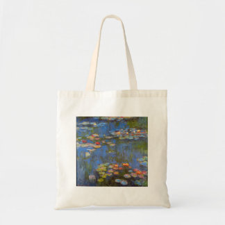 Waterlillies by Claude Monet Bag