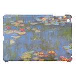 Waterlillies by Claude Monet iPad Mini Covers