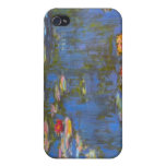 Waterlillies by Claude Monet iPhone 4/4S Cases