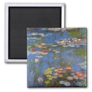 Waterlillies by Claude Monet Fridge Magnet