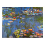Waterlillies by Claude Monet Post Card