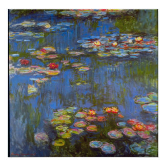 Waterlillies by Claude Monet Poster