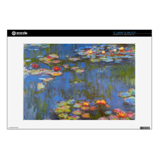 Waterlillies by Claude Monet Laptop Skins