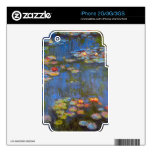 Waterlillies by Claude Monet Skins For iPhone 3G