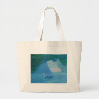 waterlillies canvas bags