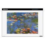 Waterlillies de Claude Monet Portátil Skins