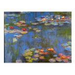 Waterlillies de Claude Monet Tarjeta Postal