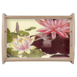 Waterlillies Serving Tray