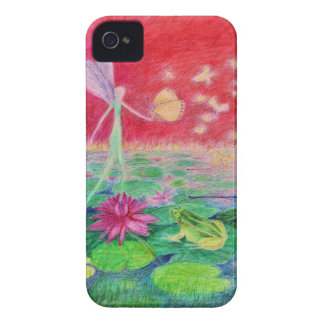 waterlilly-elve Case-Mate iPhone 4 case
