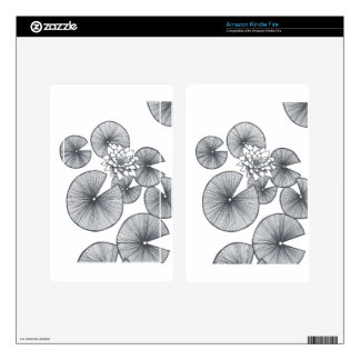 waterlilly.jpg skin for kindle fire