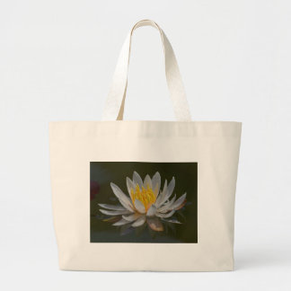 Waterlilly Waterlillies Water Canvas Bags