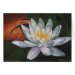 Waterlilly with Dead Pad Greeting Cards