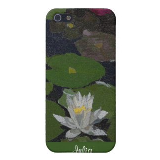 Waterlily and Lily Pads. Case For iPhone SE/5/5s