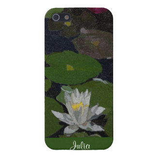 Waterlily and Lily Pads. iPhone SE/5/5s Case