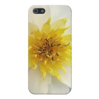 Waterlily blanco iPhone 5 funda