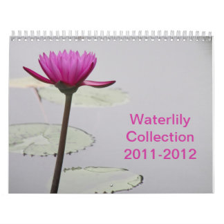 Waterlily Collection Calendar