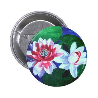 Waterlily Dance Button