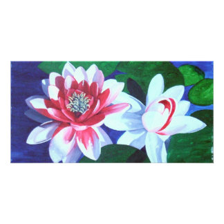 Waterlily Dance Card