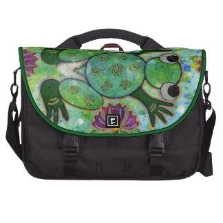 Waterlily Frog Commuter Laptop Bag