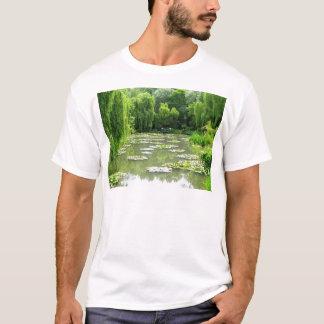 Waterlily Garden by Monet T-Shirt