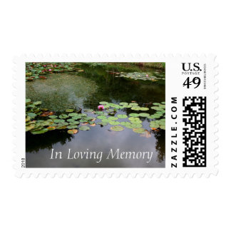 Waterlily Garden Celebration of Life Postage