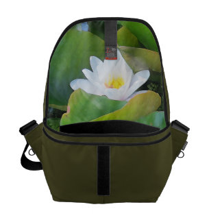 Waterlily Inside Rickshaw Messenger Bag