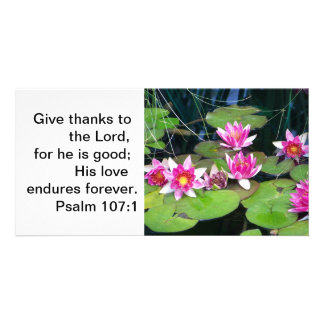 waterlily note card photo card