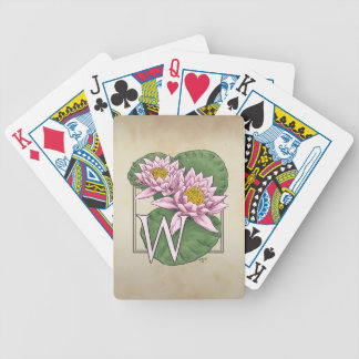 waterlily-only bicycle playing cards