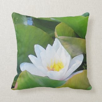 Waterlily Pillow