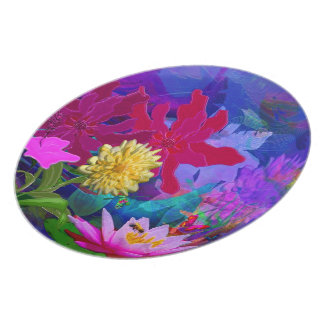 waterlily place dinner plate