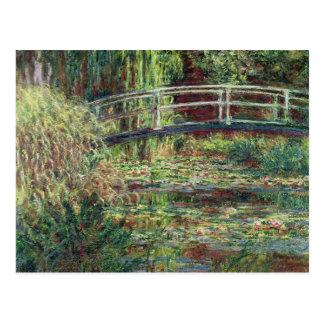 Waterlily Pond: Pink Harmony, 1900 Postcard