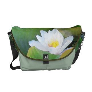 Waterlily Rickshaw Messenger Bag