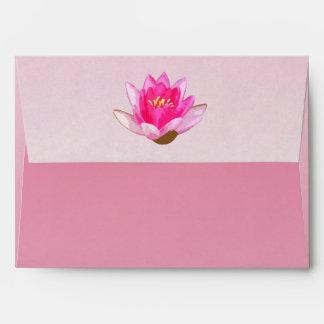 Waterlily rosado sobres