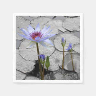 Waterlily Standing Beauty Paper Napkin