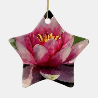 Waterlily Watercolor Ornaments
