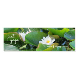 Waterlily Yoga Business Card