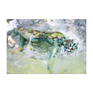 Waterline, art print, pressure, kind print, print gallery wrap canvas