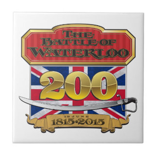 Waterloo 200 Union Flag.pdf Ceramic Tile