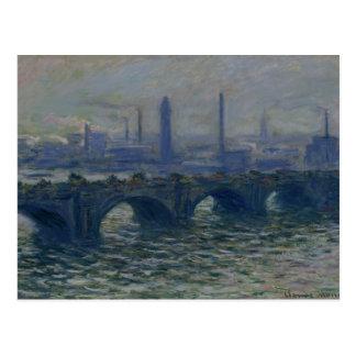 Waterloo Bridge, 1902 Postcard