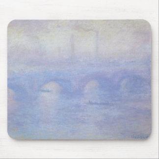 Waterloo Bridge by Claude Monet Impressionism Art Mouse Pad