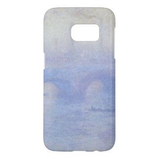 Waterloo Bridge by Claude Monet Impressionism Art Samsung Galaxy S7 Case
