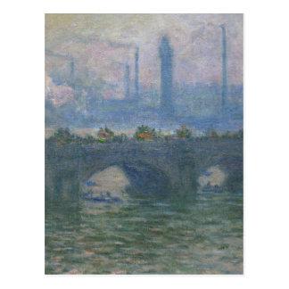 Waterloo Bridge by Claude Monet Postcard