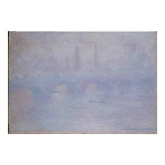 Waterloo Bridge. Effect of Fog Print