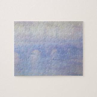Waterloo Bridge, Effect of Mist by Claude Monet Jigsaw Puzzles
